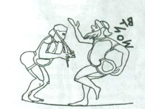 комические танцы