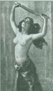 танец с саблей