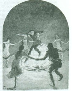 танцы с огнём