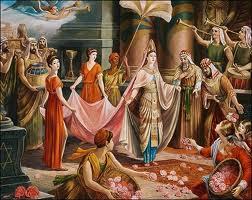 танец царицы